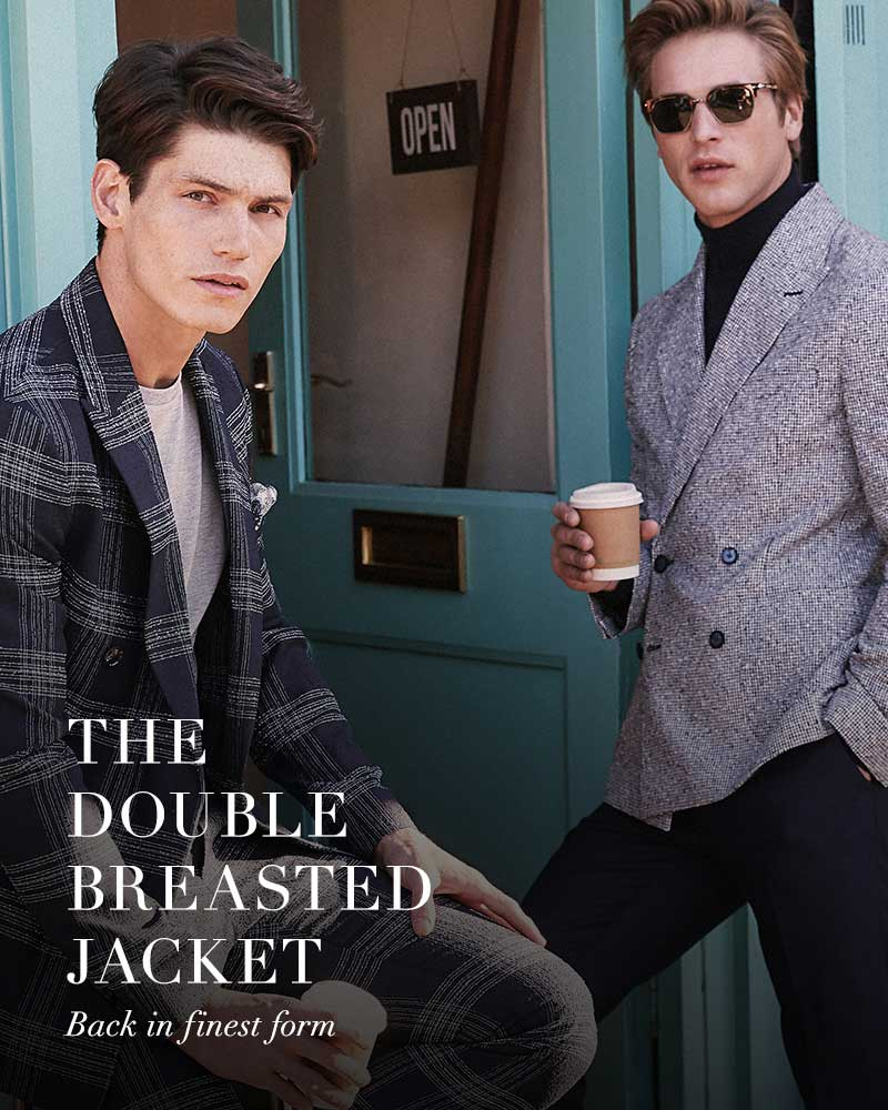 Double Breasted Jackets