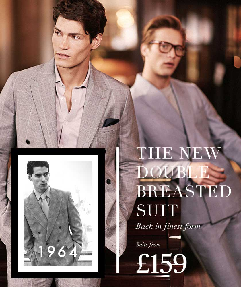 ecfdcabb8 Men's Double Breasted Suits | Men's Suits | Moss Bros.